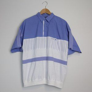 Vintage Members Only Collared Short Sleeve Shirt